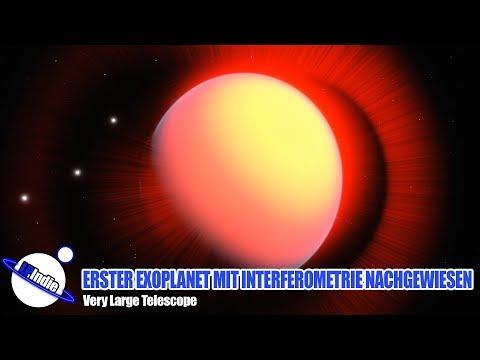 Erster Exoplanet Mit Infrarot Interferometrie Nachgewiesen