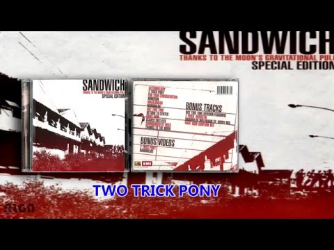 SANDWICH  - Thanks to the Moon's Gravitational Pull (Album)