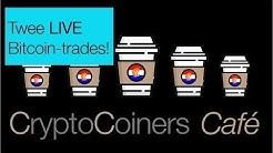 2 juni 2020 - LIVE Bitcoin-traden in het CryptoCoiners Café
