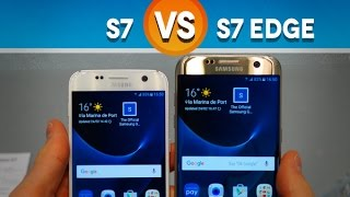 Samsung Galaxy S7 vs. S7 Edge : les 5 différences (MWC16) - Test Mobile