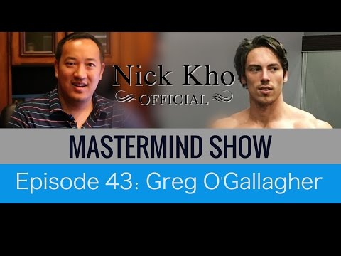 Greg O'Gallagher of Kino Body on Health & Fitness Success