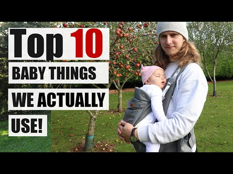 TOP 10 BABY ITEMS We ACTUALLY Use! 0-6month Edition