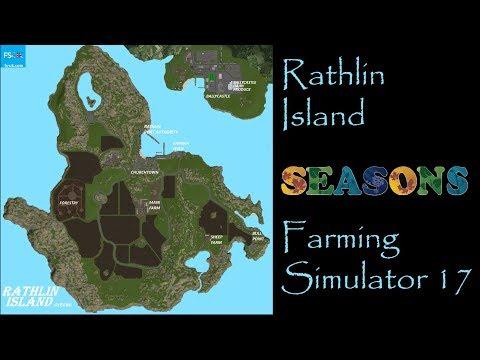 Farming Simulator 17 - Map First Impressions - Rathlin Island
