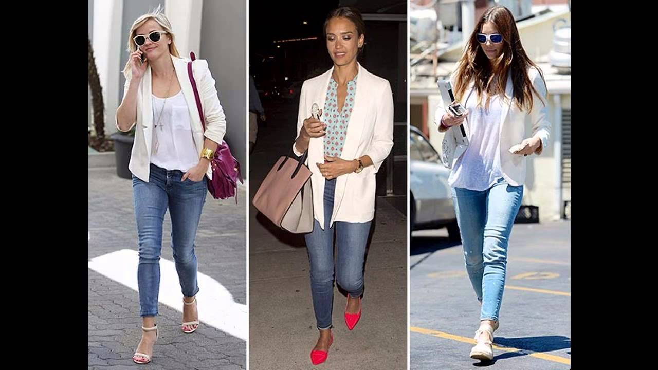 a8d2af6ed7eef2 Outfits con blazer blanco casual - YouTube