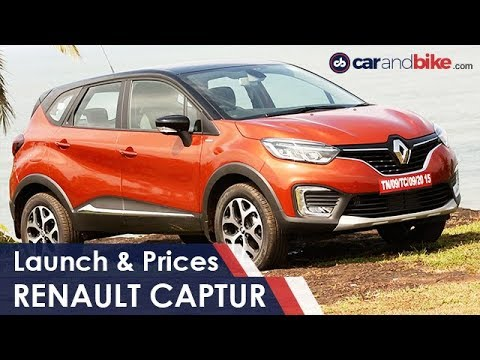 New 2017 Renault Captur SUV Prices In India | NDTV carandbike