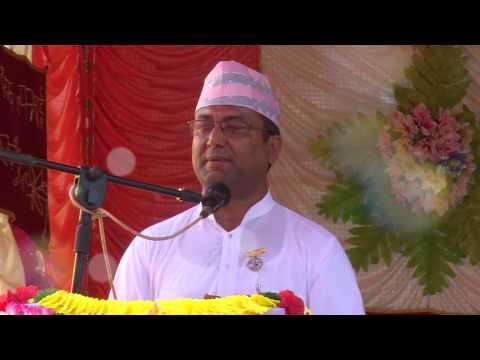 Brahmakumar Bijaya Raj Sigdel Speech at Devighat, Nuwakot.