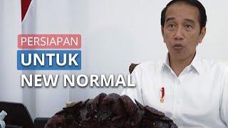 Jokowi Adakan Rapat Terbatas untuk Pastikan Kesiapan Indonesia soal New Normal saat Pandemi Corona