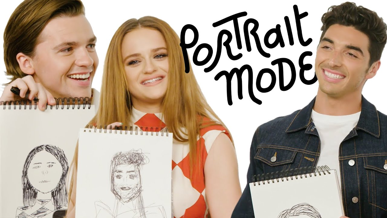 'The Kissing Booth 3' Stars Talk Astrology, Hidden Talents & DDR | Portrait Mode | Harper's BAZAAR