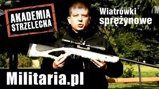Wiatrówki Sprężynowe - Akademia Strzelecka Militaria.pl