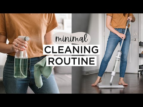 Minimalist CLEANING & TIDYING Routine | Clean With Me
