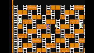NES Championship Lode Runner Stage01-10 (walkthrough)