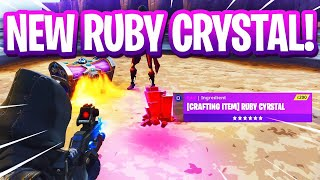 Evil Scammer Has 200 *NEW* Ruby Crystals! (Scammer Gets Scammed) Fortnite Save The World