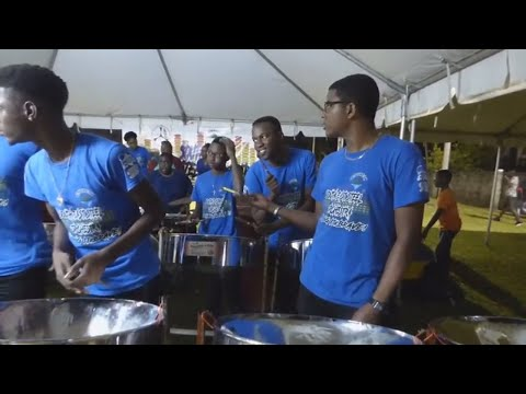 #31 PLAYING STEEL PAN IN SOUTH RIVERS | ST. VINCENT