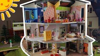 💛Playmobil Haus, alles eingerichtet - Winterroomtour - Pimp my Playmobil - Familie Sonnenschein
