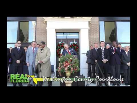 Washington County Courthouse Grand Opening Video Clips 12-1-16