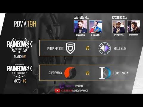 Finales de Pro League EU (Millenium) et Challenger League EU (Supremacy)
