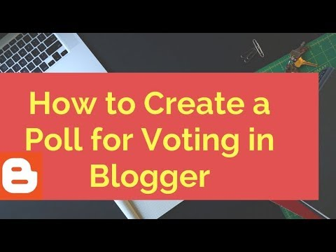 How to Create a Poll for Voting in Blogger