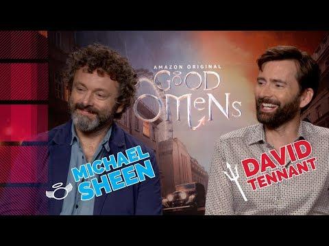 Michael Sheen & David Tennant Talk Good Omens | TV Insider