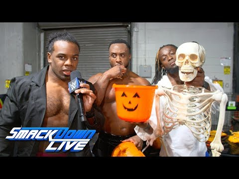 The New Day are ready for Halloween: SmackDown Exclusive, Oct. 30, 2018