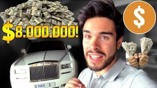 PAGAN $8.000.000 POR UNA MATRICULA EN DUBAI