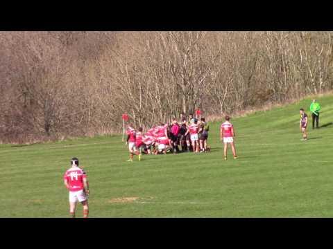2016-04-16 Bangor Uni v Aberystwyth Uni (Rugby Union) Varsity -  2nd half only