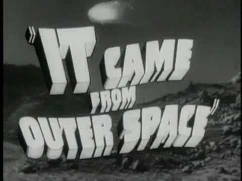 It came from outer space 1953 trailer youtube for Watch it came from outer space