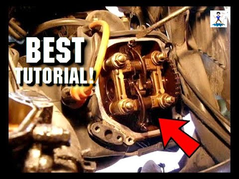 Highly Detailed Gy6 Valve Adjustment Procedure Step By