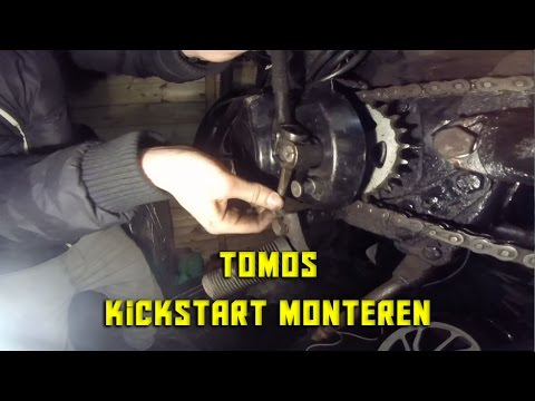 Tomos kickstand repair by lb knuckleheads by James Culver