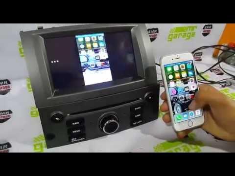 peugeot 407 android navigasyon multimedya navimex mirror. Black Bedroom Furniture Sets. Home Design Ideas
