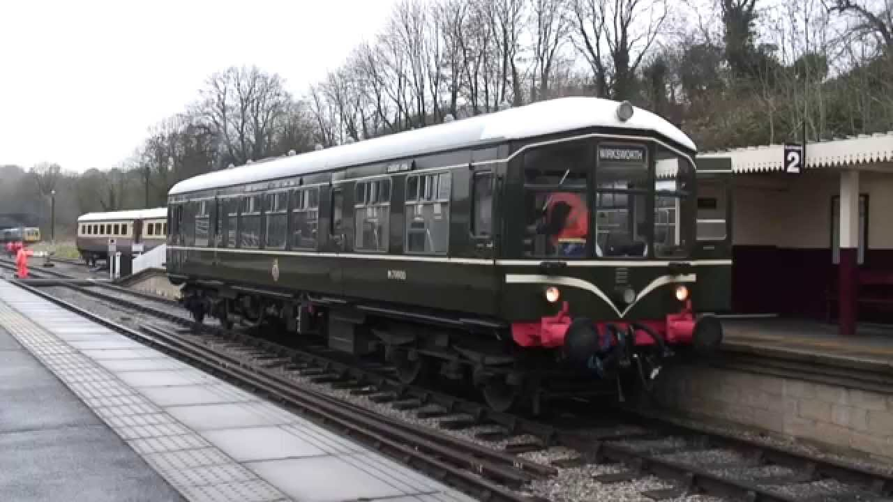 a trip on a derby lightweight single car dmu