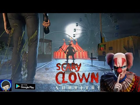 Scary Clown Survival Gameplay FullHD (Android /IOS) by Toucan Games 3D