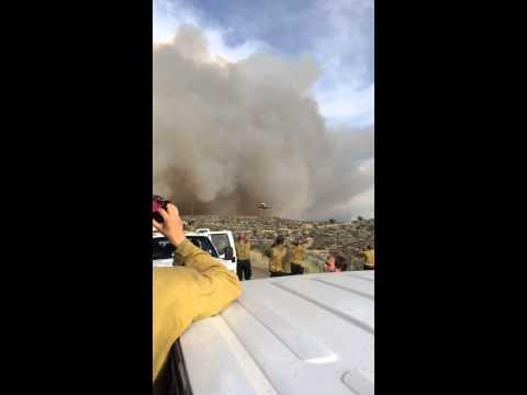 DC-10 Retardant Drop, Carlton Complex Fires