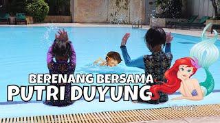 Putri Duyung Mermaid di Kolam Renang Anak - Mermaid Tails in Real Life - Video Request #2