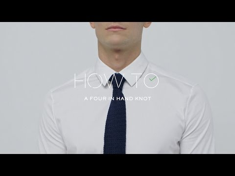 How To Tie A Four-In-Hand Tie Knot | MR PORTER