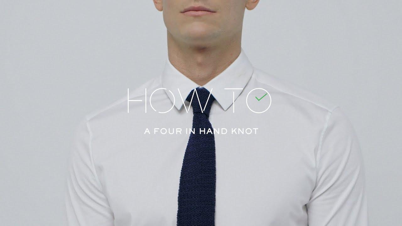 How To Tie A Fourinhand Tie Knot