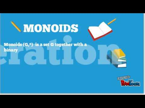 ALGEBRAIC SYSTEM Semigroups Monoid Groups Concept Animation