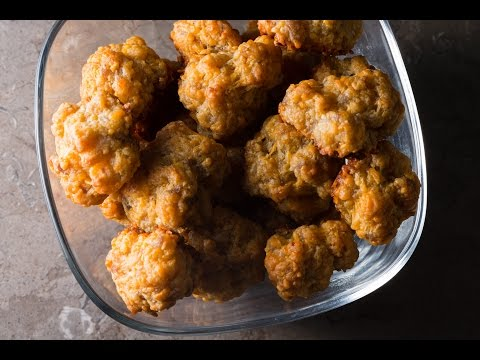 Sausage & Cheese Balls recipe by SAM THE COOKING GUY
