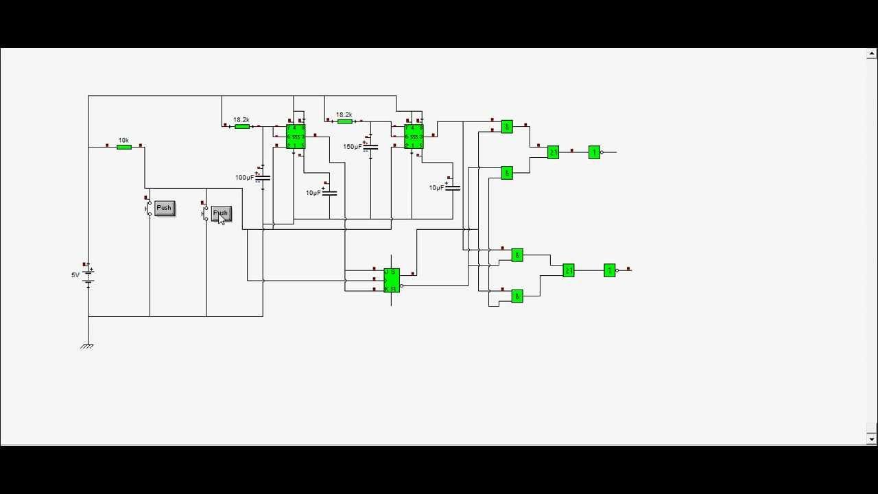 Circuito Levanta Vidrios Electricos : Circuito de comando carro electrónico youtube