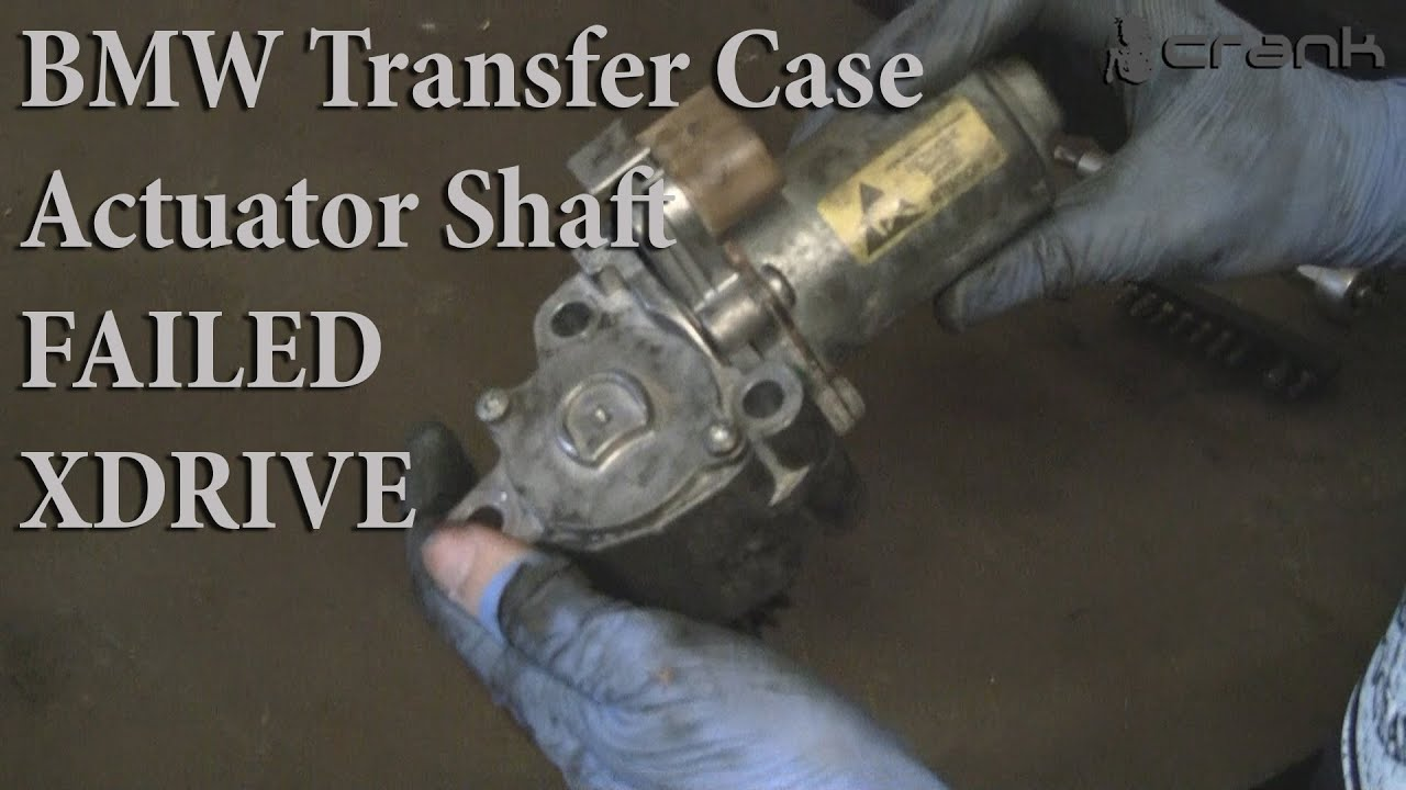 Unexplainable symptoms? Is this a bad transfer case? - BMW 3