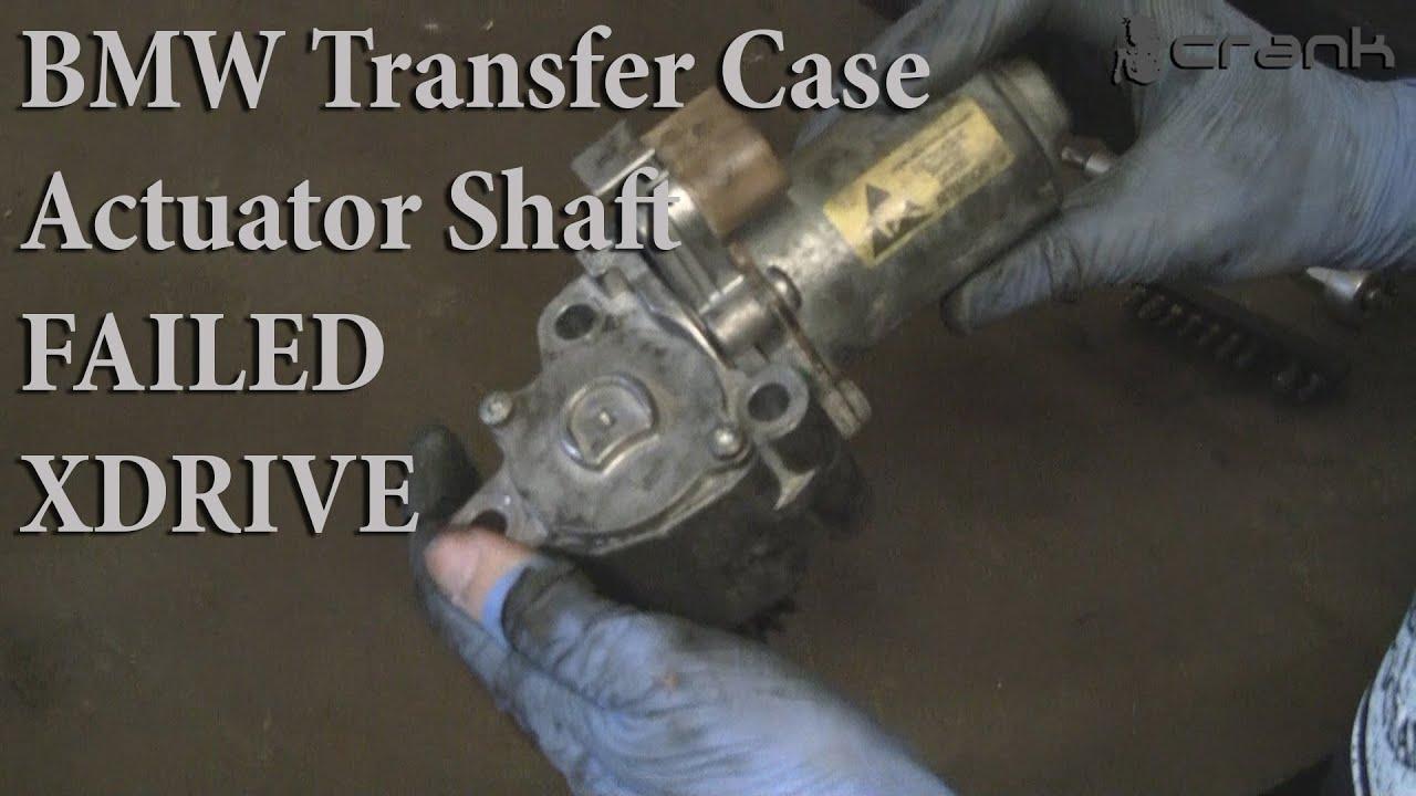 Bmw E60 E90 Transfer Case Servomotor Actuator Shaft Part 1