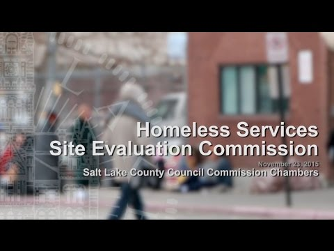 Homeless Services Site Evaluation Commission - November 23, 2015