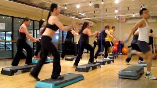 Advanced Step Aerobics With Shao - 2010 03 11