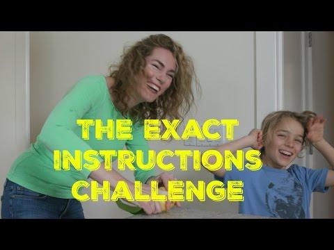 The Exact Instructions Challenge