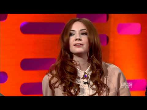 KAREN GILLAN: Whovians are... Enthusiastic! (The Graham Norton Show)