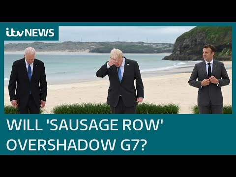Johnson tells G7 we must 'learn lessons' from pandemic as Northern Ireland row rumbles on   ITV News