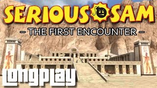 Serious Sam Classic: The First Encounter - Full Game Walkthrough (No Commentary Longplay)