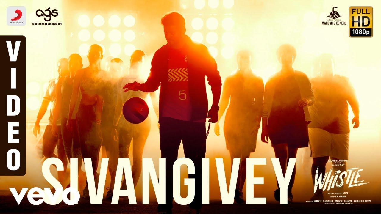 Download Whistle - Sivangivey Video | Vijay, Nayanthara | A.R Rahman