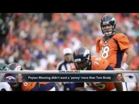 Peyton Manning Didn't Want More Than Brady
