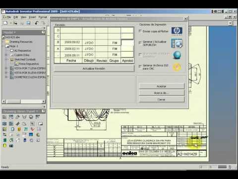 Autodesk Inventor Information manage