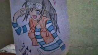 drawings of yu-gi-oh 5ds & anime drawings
